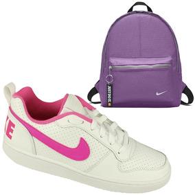 Kit Nike Juvenil Tênis Borough + Mochila Casual 11 L Oferta