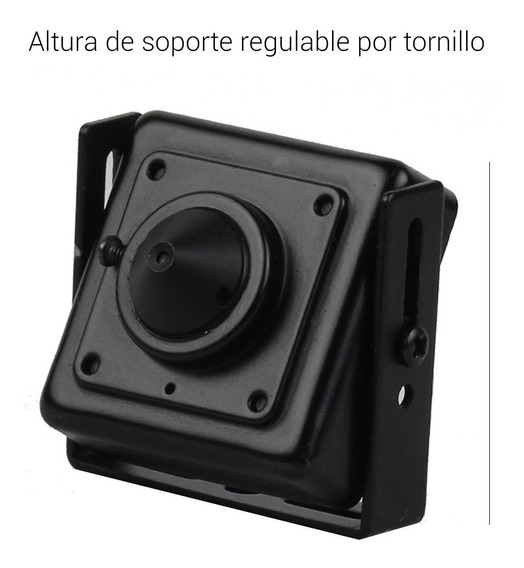 Camara Seguridad Pinhole Mini Lente Espía 1080p Analogica Hd