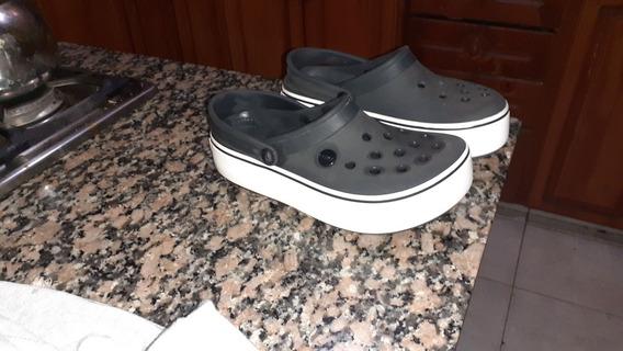 Crocs Con Plataformas Numero 35/36