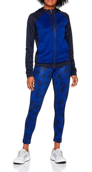 Conjunto Pants Con Sudadera Hoody Tight Mujer adidas Dq2961