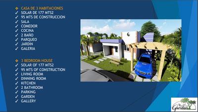 Excelente Proyecto De Casa En Punta Cana Garden