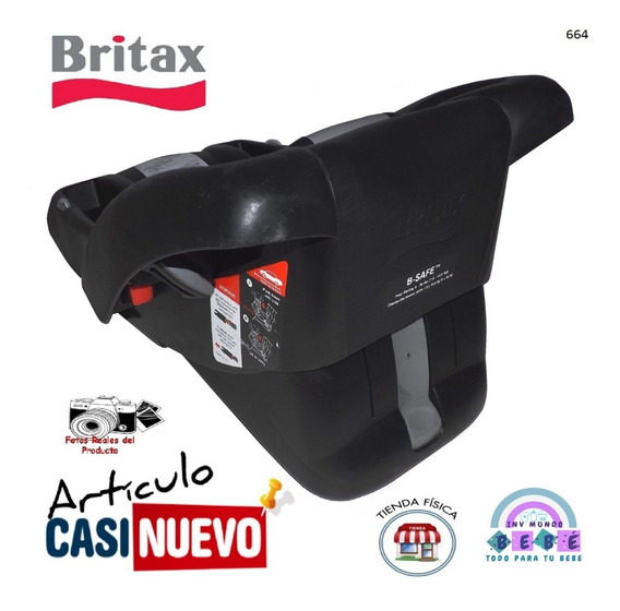 Portabebe Base Britax Impecable.-