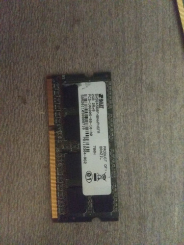 Memoria Ram  Smart 2gb 2rx8