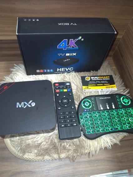 Tv Box 4k Smartv + Mini Keyboard