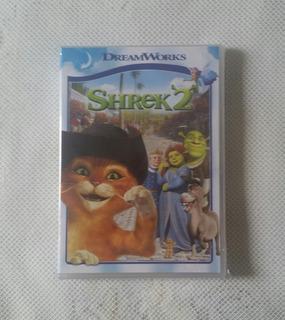 Shrek 2 Dvd Filme Animação Gato De Botas Dublado Lacrado