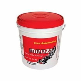 Balde De Cera Automotiva Monza 3,6 Kg Brilho E Proteção