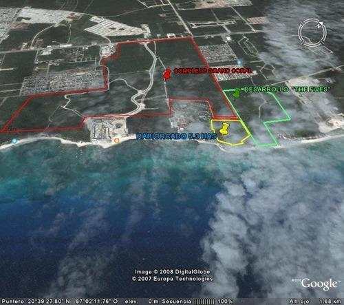 Imagen 1 de 5 de Terreno En Venta Para Desarrollos Turisticos En Playa Del Ca