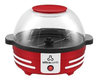 Pochoclera Ultracomb PO-2702 aire caliente roja 850W