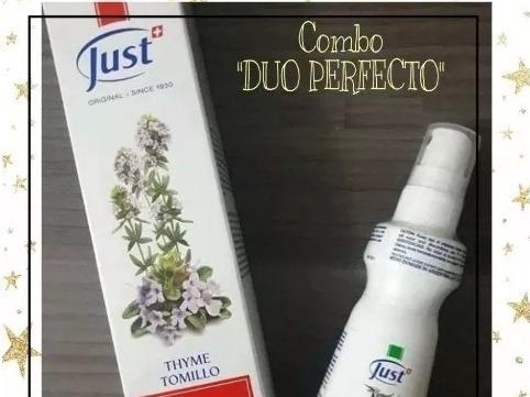 Crema De Tomillo Y Eucasol Swiss Just