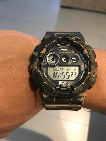 Relógio Casio G-shock Modelo Gd-120 Cm/3427 Original