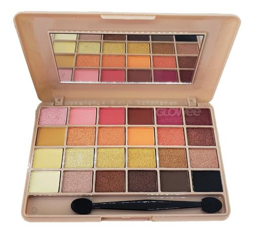 Paletas Sombras Ojos - Dapop Original - 24 Colors  - Glowee