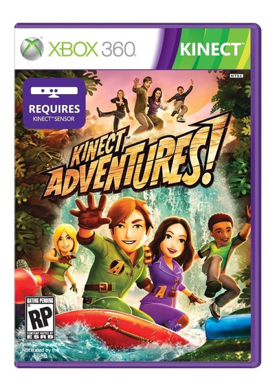Jogo Kinect Adventures Xbox 360 Lacrado Original