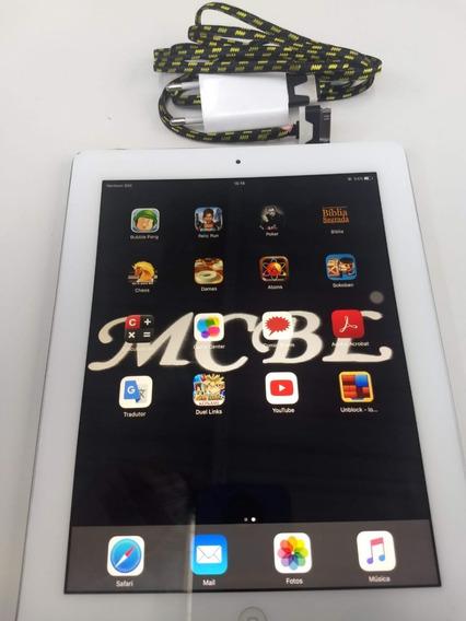 Apple iPad 3 Branco 16gb Wi-fi + 4g + Bluetooth (usado)