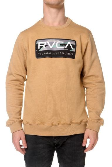 Buzo Rvca Reno Crew Mostaza Hombre 91188600