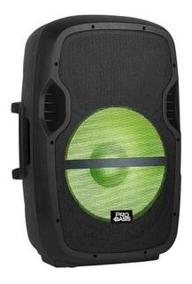 Parlante Amplificado Bateria Pro Bass Galaxy 115 15 Bt Usb