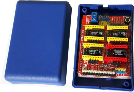 10 X Caixas Plasticas 9,3 X 6,1 X 3,5 Arduino Shield