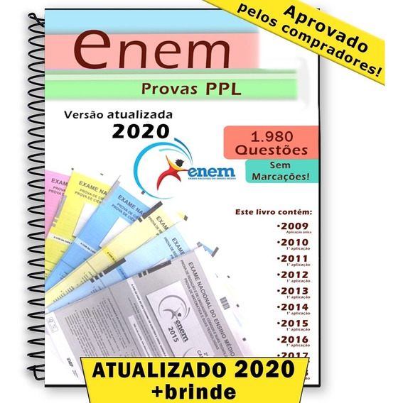 Enem Ppl 2019 Todas As Provas 2009 A 2019 + Gabaritos