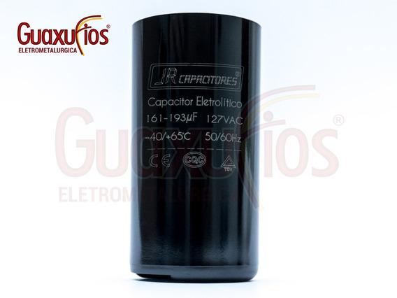 Capacitor Eletrolítico 161/193 Uf 127v Jr - 5 Peças
