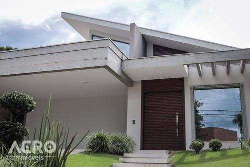Casa À Venda, 361 M² Por R$ 2.000.000,00 - Residencial Tivoli - Bauru/sp - Ca2275