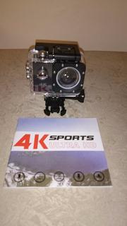 Sport Cam F68 4k Ultra Hd 20mp / Carro/moto / Surf