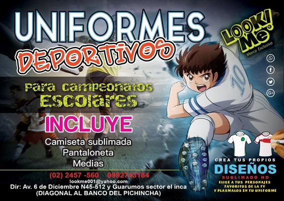 Uniformes Deportivos Para Campeonatos Escolares