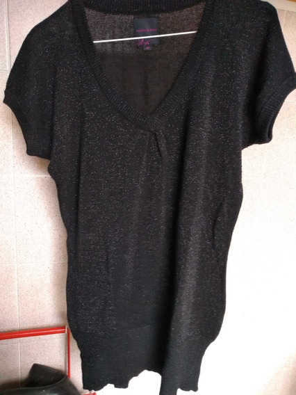 Remera Lurex Cuesta Blanca,t42,impecable!!oferta!!