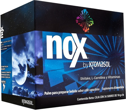 Imagen 1 de 6 de Nox By Kromasol Capuchino Moka Café Negro