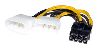 Adaptador Molex Para Tarjeta De Video Pci-e De 8 Pines