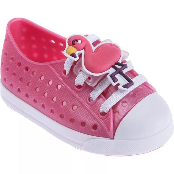 Tênis Para Bebês Colore Flamingo Rosa Pimpolho 27348e