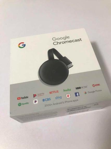 Google Chromecast Tercera Generación Full Hd Pantalla 1080p