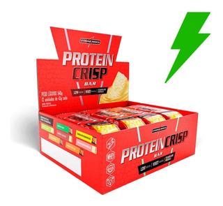 Protein Crisp Bar 12 Barras Integralmédica Barra De Proteína