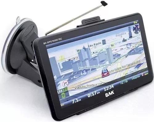 Gps Bak Bk-gps7009dtv Os Windows Ce - Tv Digital 7 Polegadas