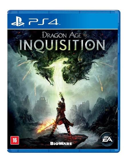 Dragon Age Inquisition Ps4 Mídia Física