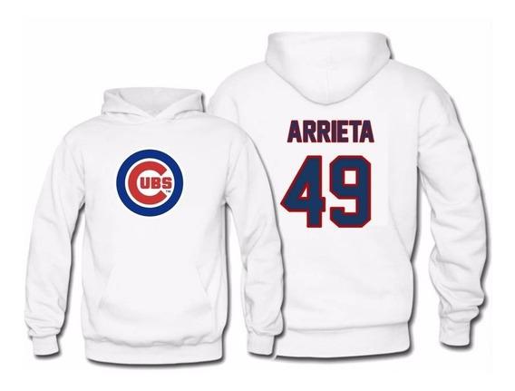 Sudadera Jake Arrieta Jersey Chicago Cubs Mlb