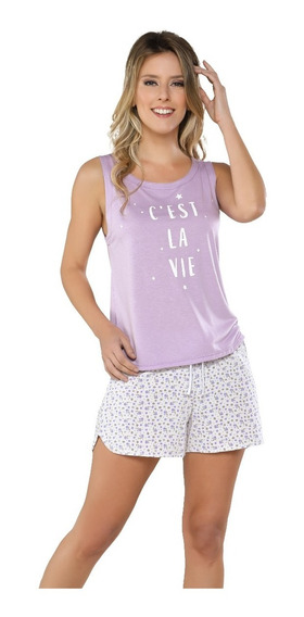 Pijama Verano De Mujer. 2 Piezas 9501