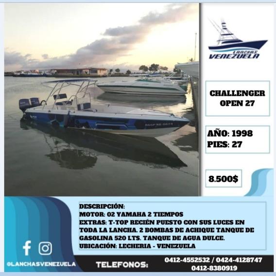 Lancha Challenger Open 27 Lv549