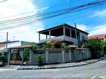 Casa Com 3 Quartos À Venda, 140 M² Por R$ 270.000 - Pacheco - São Gonçalo/rj - Ca0044