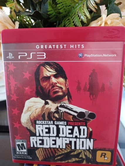 Red Dead Redemption - Jogo Ps3 Novo Completo Midia Fisica