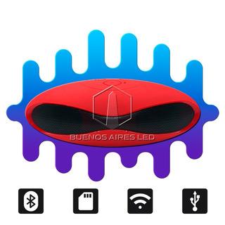 Parlante Led Portatil 3w Bluetooth Alcance 10 Metros Usb