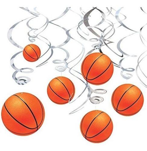 Fiesta De Cumpleaños Del Sueño Del Baloncesto Que Cuelga D