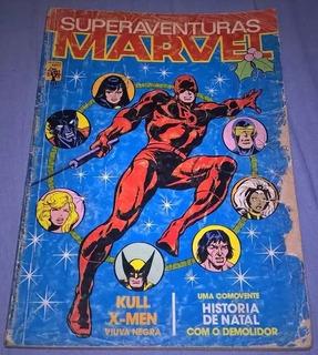 Hq Gibi Superaventuras Marvel # 30 Ed Abril 1984 Demolidor