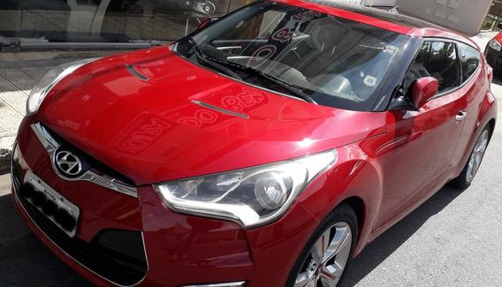 Hyundai Veloster 2012 2013 Vermelho 1.6 16v 140cv Automático