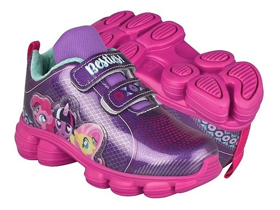 Tenis Casuales Para Niña My Little Pony 4758 Simipiel Fiusha