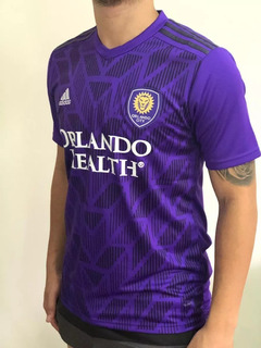 Camisa Orlando City Home 19/20 Roxa Oficial Pronta Entrega