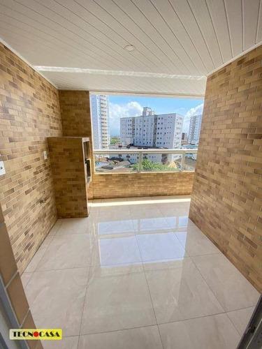 Imagem 1 de 30 de Excelente Apartamento Com 02 Dormitórios Para Venda Com  88 M² No Bairro Boqueirão Em  Praia Grande/sp. - Ap6571