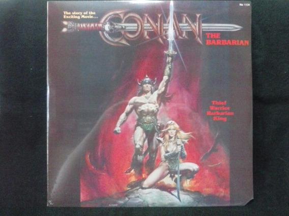 Lp Conan The Barbarian - Música no Mercado Livre Brasil