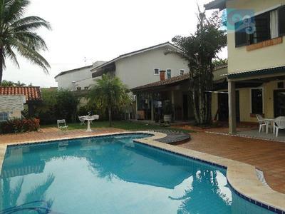 Casa À Venda, Praia De Pernambuco - Guarujá - Ca1437