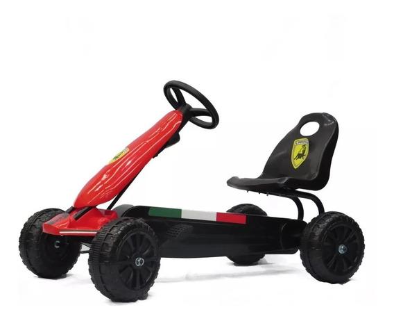 Auto Karting A Pedal Carrera Lamborghini Babymovil 7550 (d)