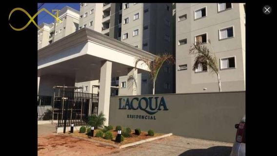 Apartamento Laqua Residence Em Santa Barbara Doeste - Ap0804