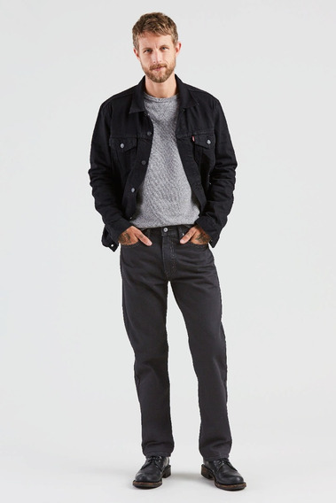 Jean Levi´s® Hombre 505 Regular Fit Black Black